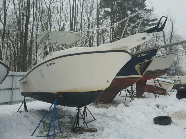Salvage 1980 Mako BOAT for sale