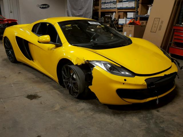 2014 MCLAREN AUTOMOTIVE MP4-12C SP