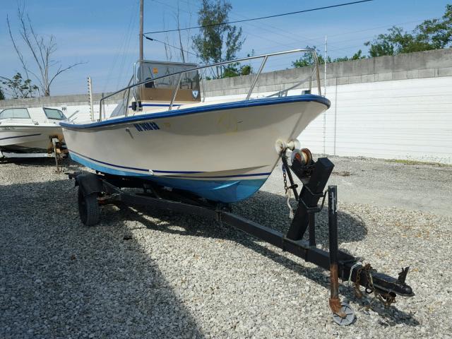 Salvage 1983 Aquasport BOAT for sale