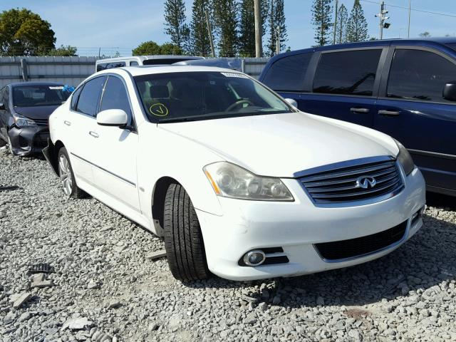Auto Auction Ended On Vin Jnkby01f48m551071 2008 Infiniti M45 In Fl