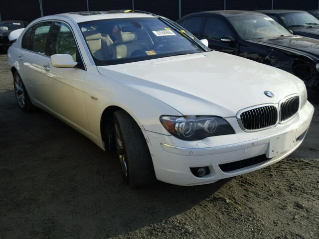 Auto Auction Ended on VIN: WBAHN83577DT65334 2007 BMW 750 in DC ...