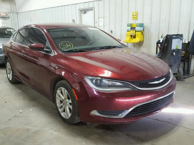 2015 CHRYSLER 200 LIMITE 2.4L