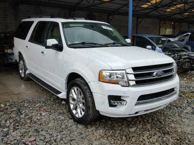 2016 ford expedition el limited for sale ga cartersville salvage cars copart usa. Black Bedroom Furniture Sets. Home Design Ideas