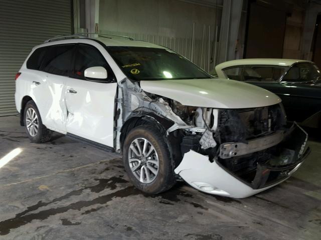 5n1ar2mm3dc631361 2013 White Nissan Pathfinder On Sale In Ks