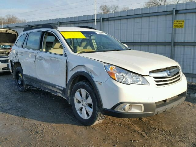 4s4brbac0c3246404 2012 White Subaru Outback 2 On Sale In Pa