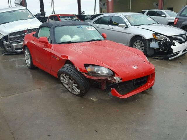 Auto Auction Ended on VIN: JHMAP21464S000543 2004 HONDA S2000 in TX ...