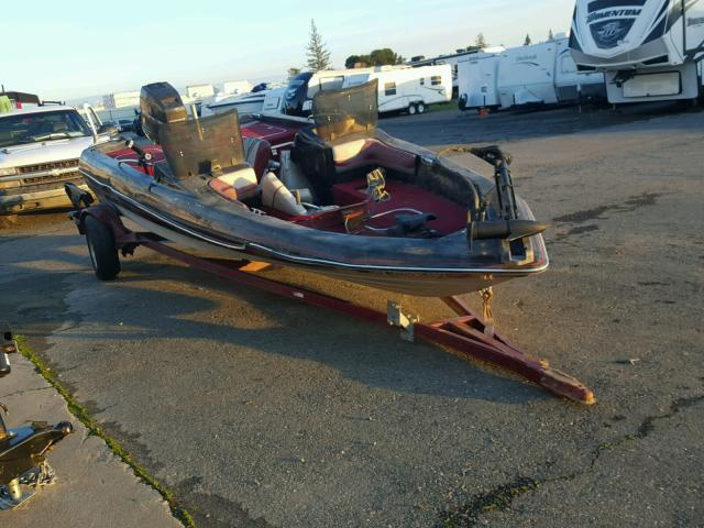 Salvage 1989 Bayliner BOAT WITH TRAILER for sale