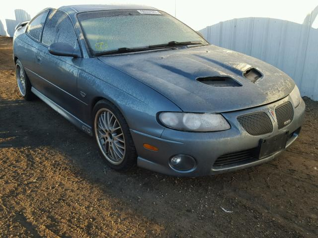 2006 PONTIAC GTO 6.0L