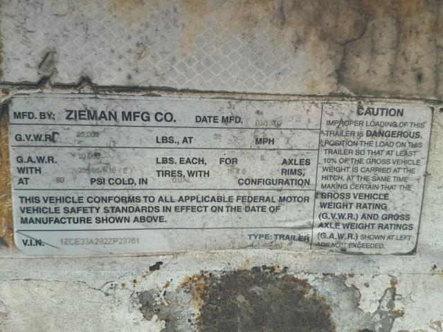 2002 ZIEM TRAILER