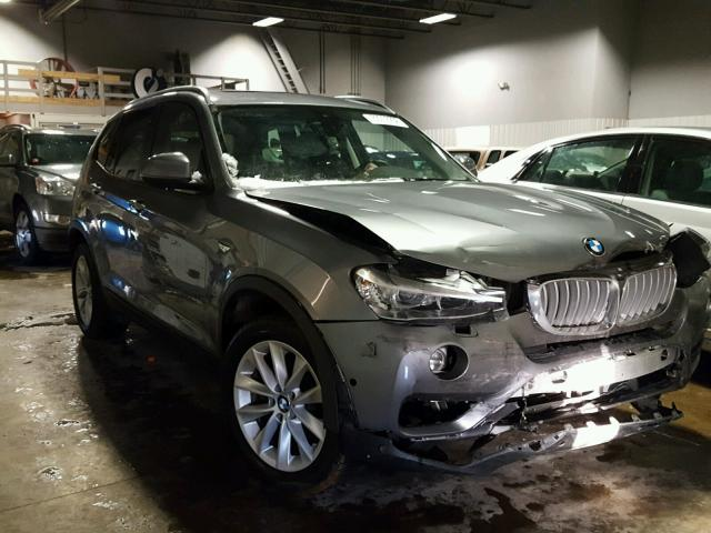 2016 bmw x3 xdrive28i for sale mn minneapolis north salvage cars copart usa. Black Bedroom Furniture Sets. Home Design Ideas