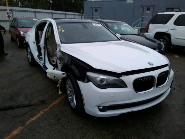 2010 BMW 750 I 4.4L