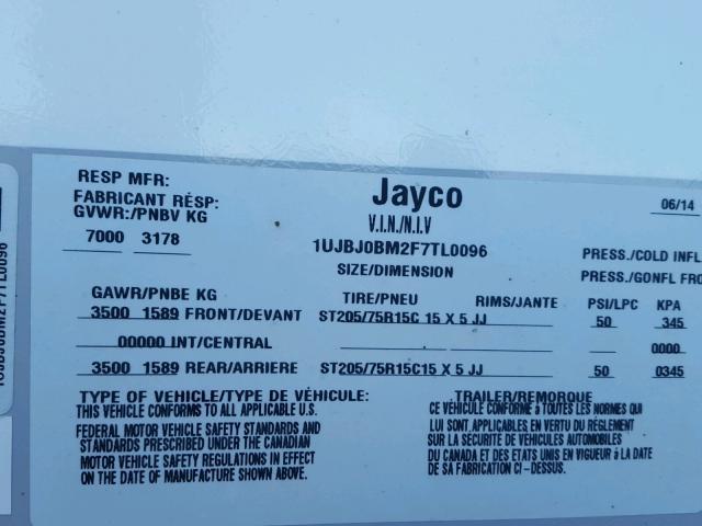 2015 JAYC JAYFLIGHT