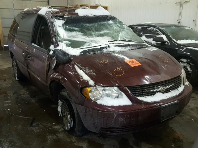 2003 CHRYSLER TOWN & COU 3.3L
