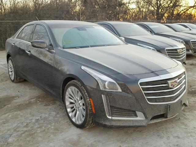 2016 cadillac cts luxury collection for sale tx dallas salvage cars copart usa. Black Bedroom Furniture Sets. Home Design Ideas