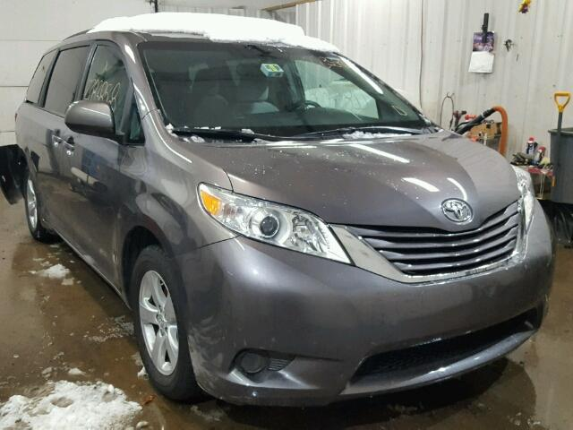2016 TOYOTA SIENNA LE s Salvage Car Auction Copart USA