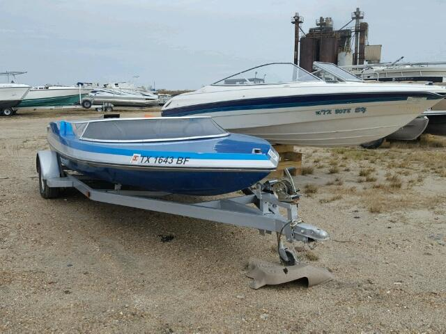 Salvage 1979 Tayl SS JET BOAT for sale