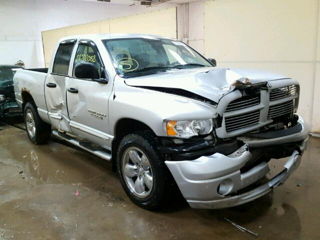 2005 dodge ram 1500 st for sale mi flint salvage cars copart usa. Black Bedroom Furniture Sets. Home Design Ideas