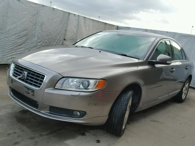 2007 volvo s80 se lux for sale at copart uk salvage car auctions. Black Bedroom Furniture Sets. Home Design Ideas