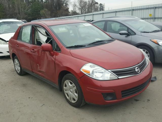 2010 nissan versa s for sale nc raleigh salvage cars copart usa. Black Bedroom Furniture Sets. Home Design Ideas