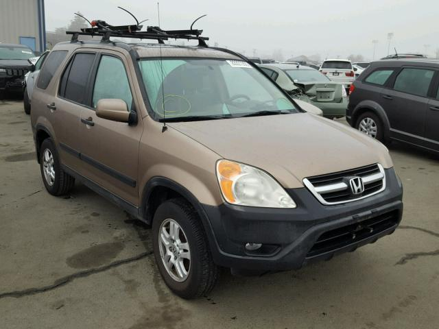 2004 honda cr v ex for sale ca vallejo salvage cars copart usa. Black Bedroom Furniture Sets. Home Design Ideas
