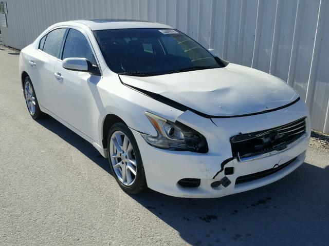 1n4aa5ap9bc864983 2011 White Nissan Maxima S On Sale In Al