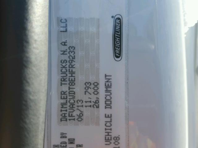 2014 FREIGHTLINER M2 106 MED 6.7L
