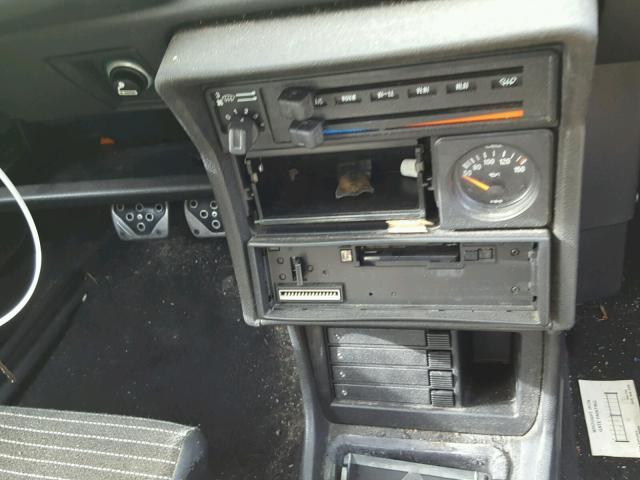 1985 VOLKSWAGEN SCIROCCO DELUXE Photos | CA - HAYWARD - Salvage Car