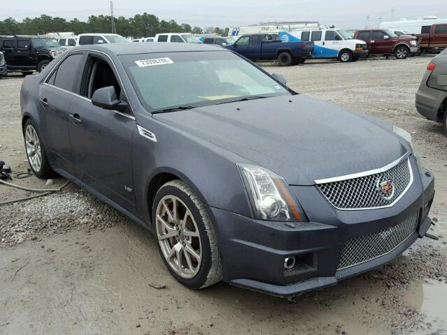 Auto Auction Ended On Vin 1g6dv5ep9a0122138 2010 Cadillac Cts V In