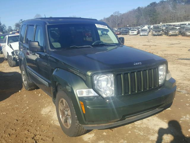 Salvage 2008 Jeep LIBERTY SP for sale