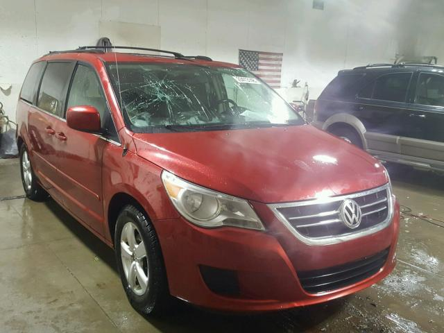 2009 volkswagen routan se for sale mi ionia salvage. Black Bedroom Furniture Sets. Home Design Ideas