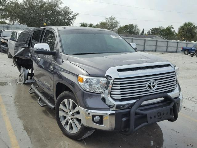2017 toyota tundra crewmax limited for sale fl punta gorda salvage cars copart usa. Black Bedroom Furniture Sets. Home Design Ideas