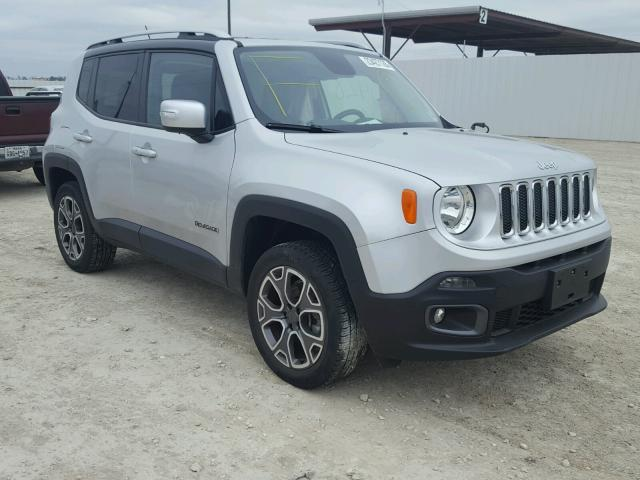 2015 jeep renegade limited for sale tx waco salvage cars copart usa. Black Bedroom Furniture Sets. Home Design Ideas