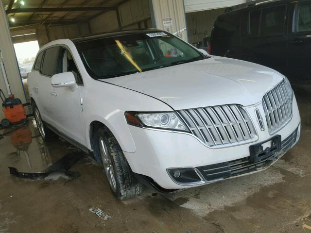 Auto Auction Ended On Vin 2lmhj5at9abj04587 2010 Lincoln Mkt In Tx