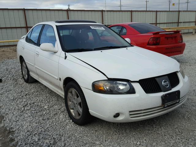 3n1ab51d74l735017 2004 White Nissan Sentra Se On Sale In Tx Ft