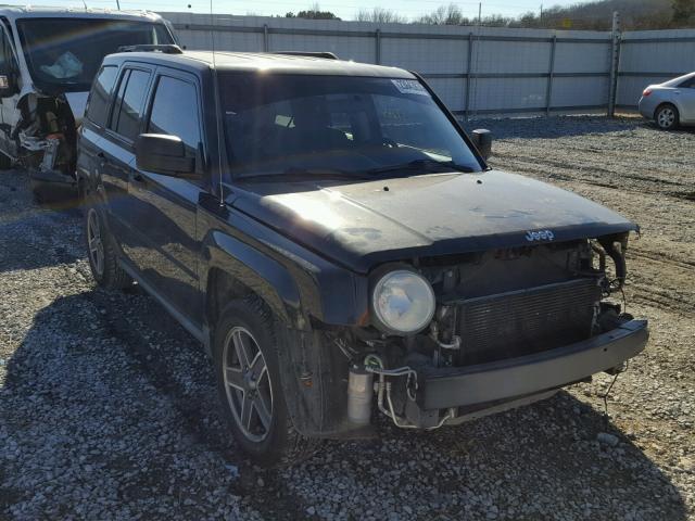 2009 jeep patriot sport for sale ar fayetteville salvage cars copart usa. Black Bedroom Furniture Sets. Home Design Ideas