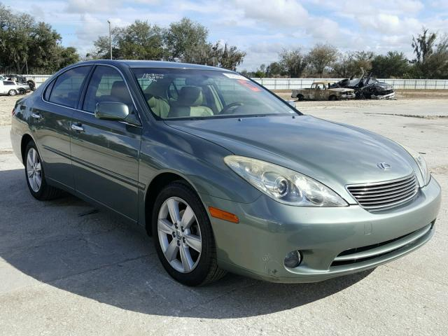 Auto Auction Ended on VIN: JTHBA30G355076986 2005 LEXUS ES 330 in FL ...