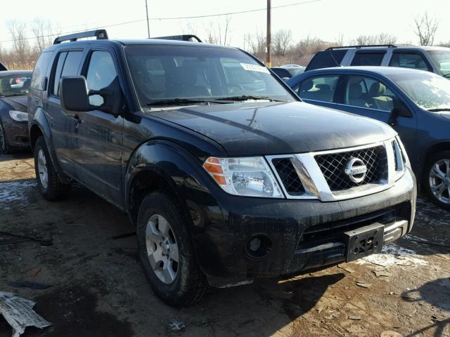 5n1ar18b78c643893 2008 Black Nissan Pathfinder On Sale In Mi