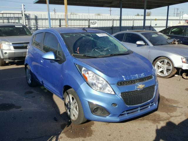 2014 chevrolet spark 1lt for sale az phoenix salvage. Black Bedroom Furniture Sets. Home Design Ideas