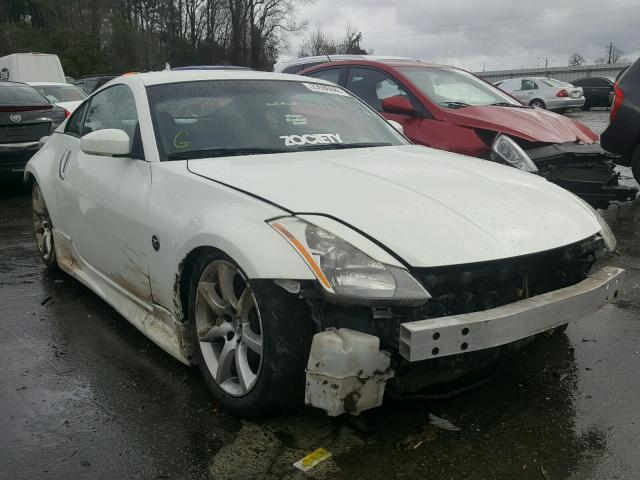 2003 Nissan 350z Coupe For Sale Nc Raleigh Salvage