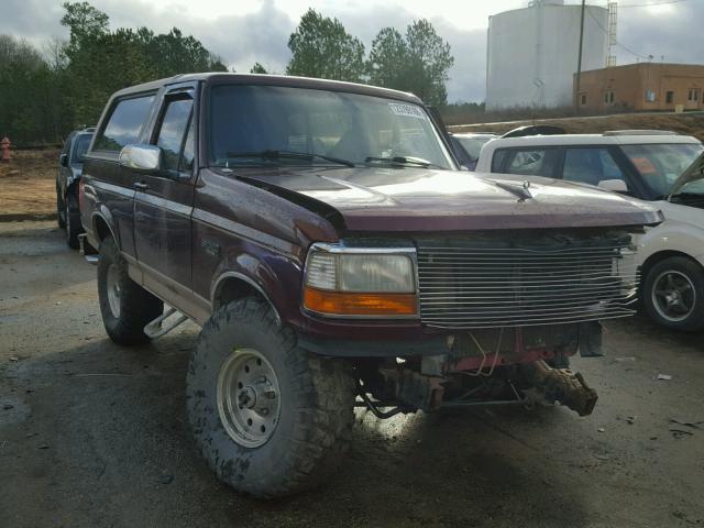 1996 FORD  BRONCO U10