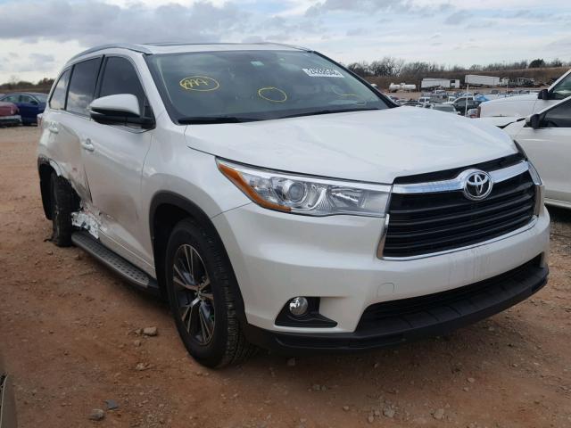 2016 Toyota Highlander Xle For Sale Ok Oklahoma City