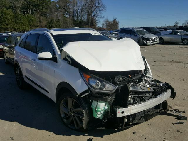 Salvage cars for sale from Copart Dunn, NC: 2017 KIA Niro EX TO