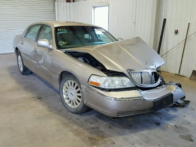 2003 Lincoln Town Car Signature For Sale Tx Lufkin Salvage