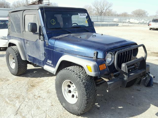 2004 jeep wrangler tj se for sale ks wichita salvage cars copart usa. Black Bedroom Furniture Sets. Home Design Ideas