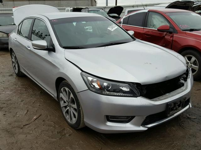 2013 honda accord sport for sale oh columbus salvage cars copart usa. Black Bedroom Furniture Sets. Home Design Ideas