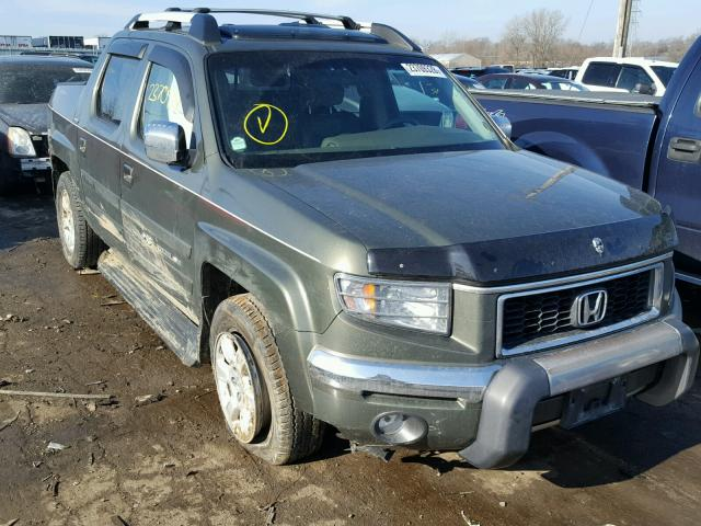 2006 honda ridgeline rtl for sale il chicago south salvage cars copart usa. Black Bedroom Furniture Sets. Home Design Ideas