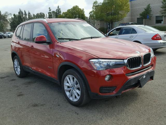 2017 bmw x3 sdrive28i for sale ca rancho cucamonga. Black Bedroom Furniture Sets. Home Design Ideas