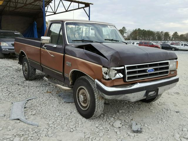 1989 ford f250 for sale ga cartersville salvage cars copart usa. Black Bedroom Furniture Sets. Home Design Ideas
