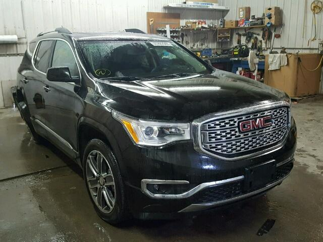 2017 gmc acadia denali for sale mn st cloud salvage. Black Bedroom Furniture Sets. Home Design Ideas