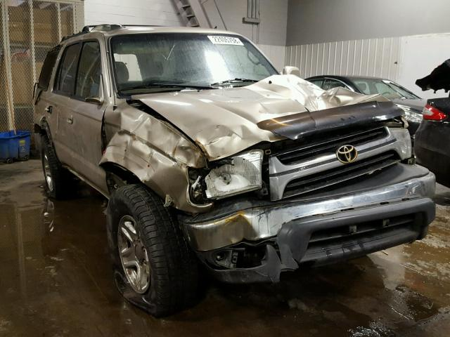2002 toyota 4runner sr5 for sale mn minneapolis north salvage cars copart usa. Black Bedroom Furniture Sets. Home Design Ideas